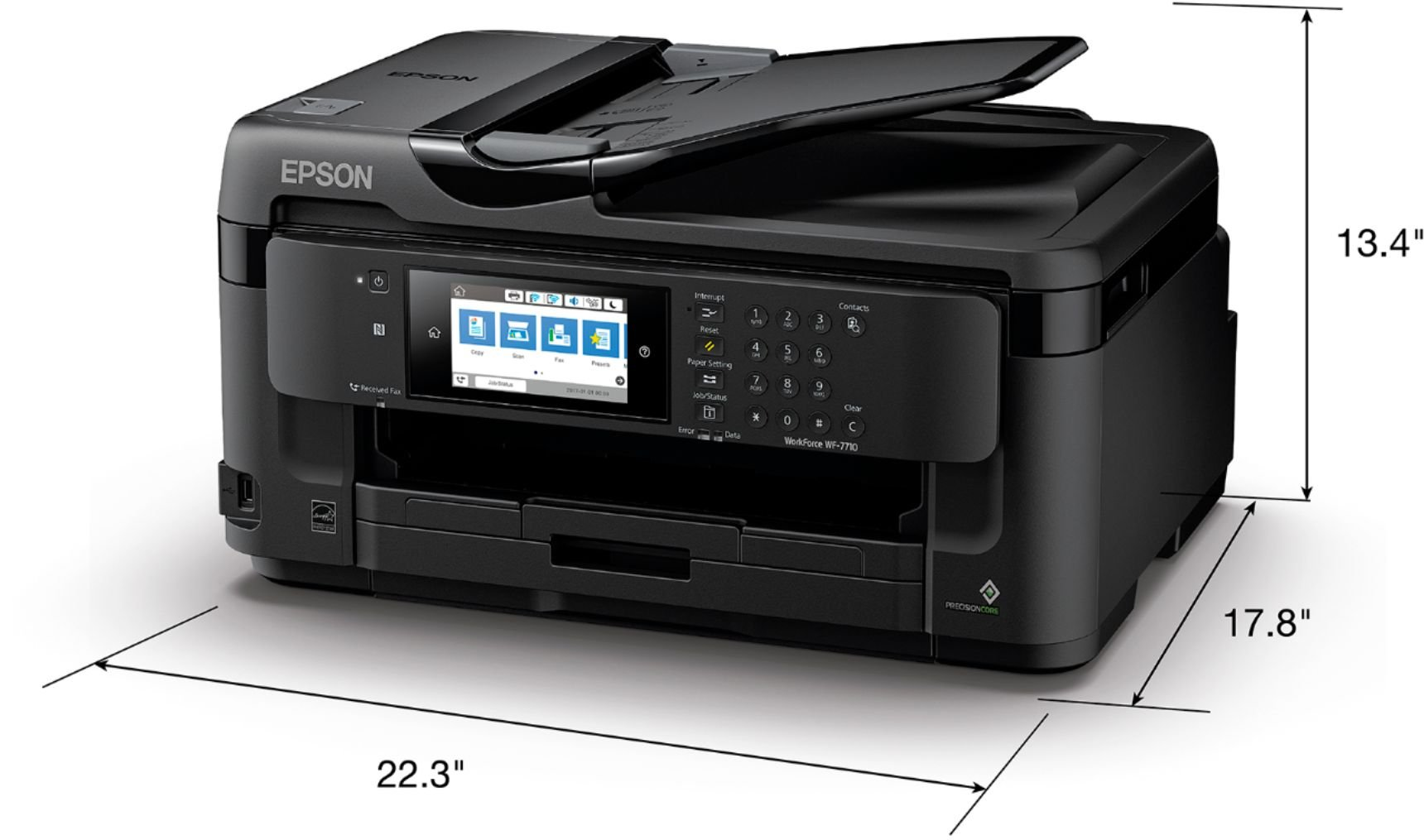 Epson WF-7710 Printer - Best printer for dye-sublimation printing