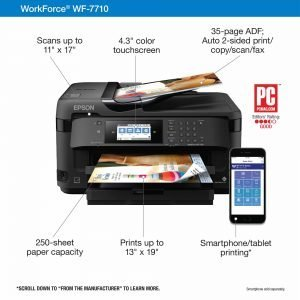 Epson WF7710 Features