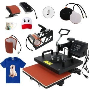 F2C Pro 5 in 1 Combo Heat Press Review