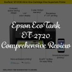 Epson EcoTank ET-2720 Review