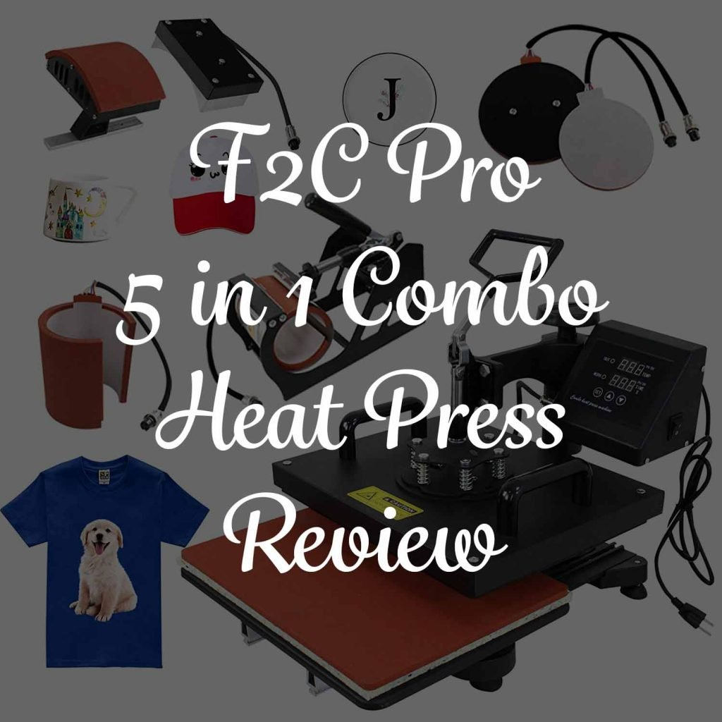 F2C Pro 5 in 1 Combo Heat Press