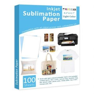 printers jack sublimation paper