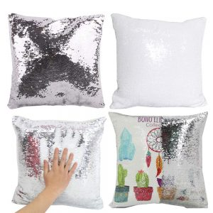 sublimation sequins pillowcases