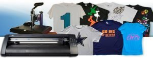 vinyl cutters and t shirts