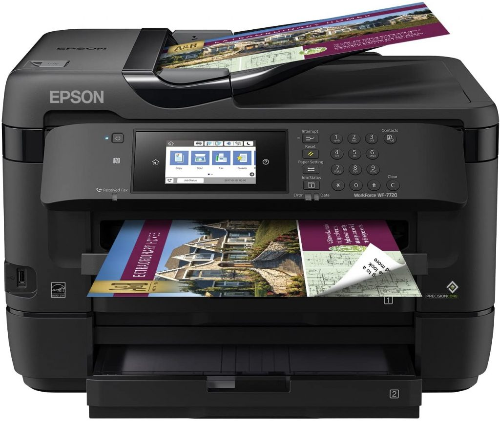 Epson WF-7720 Review